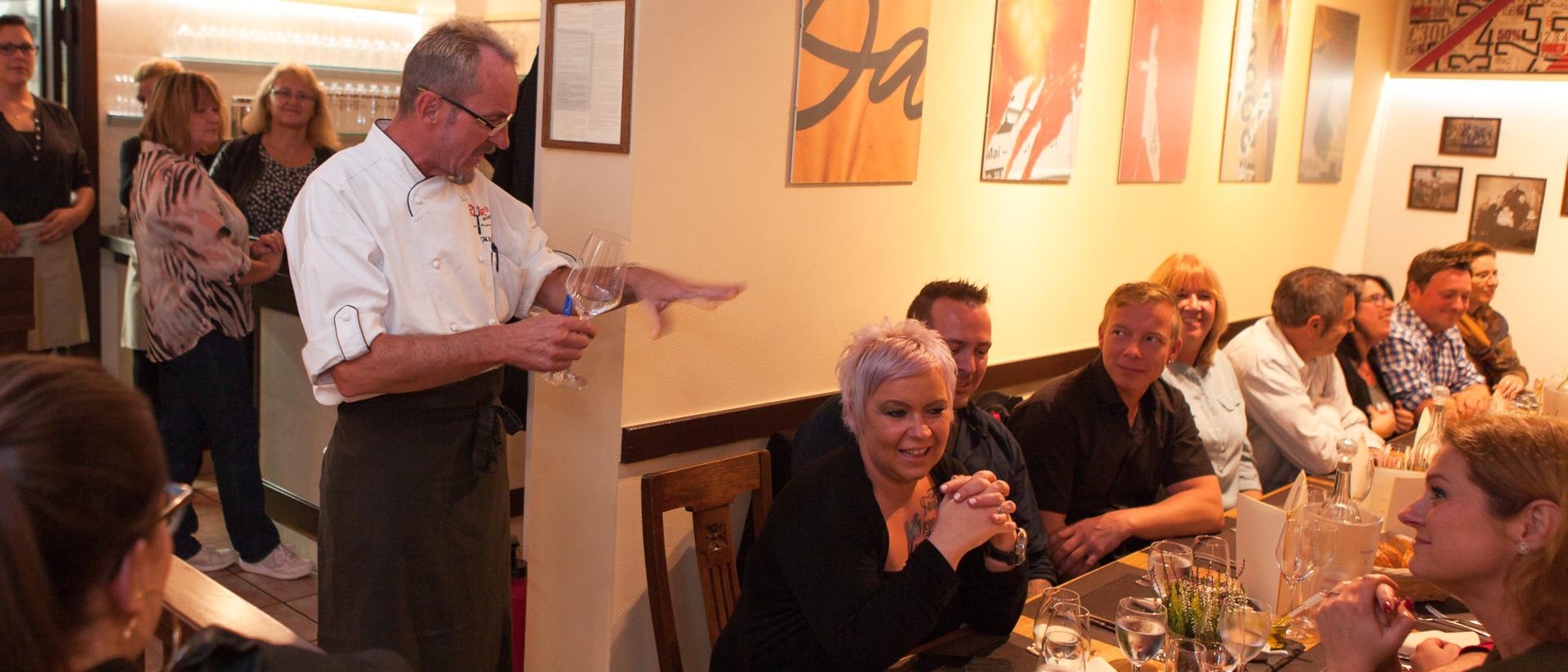 Impressionen Kulinarik-Event mit Thomas Rutar