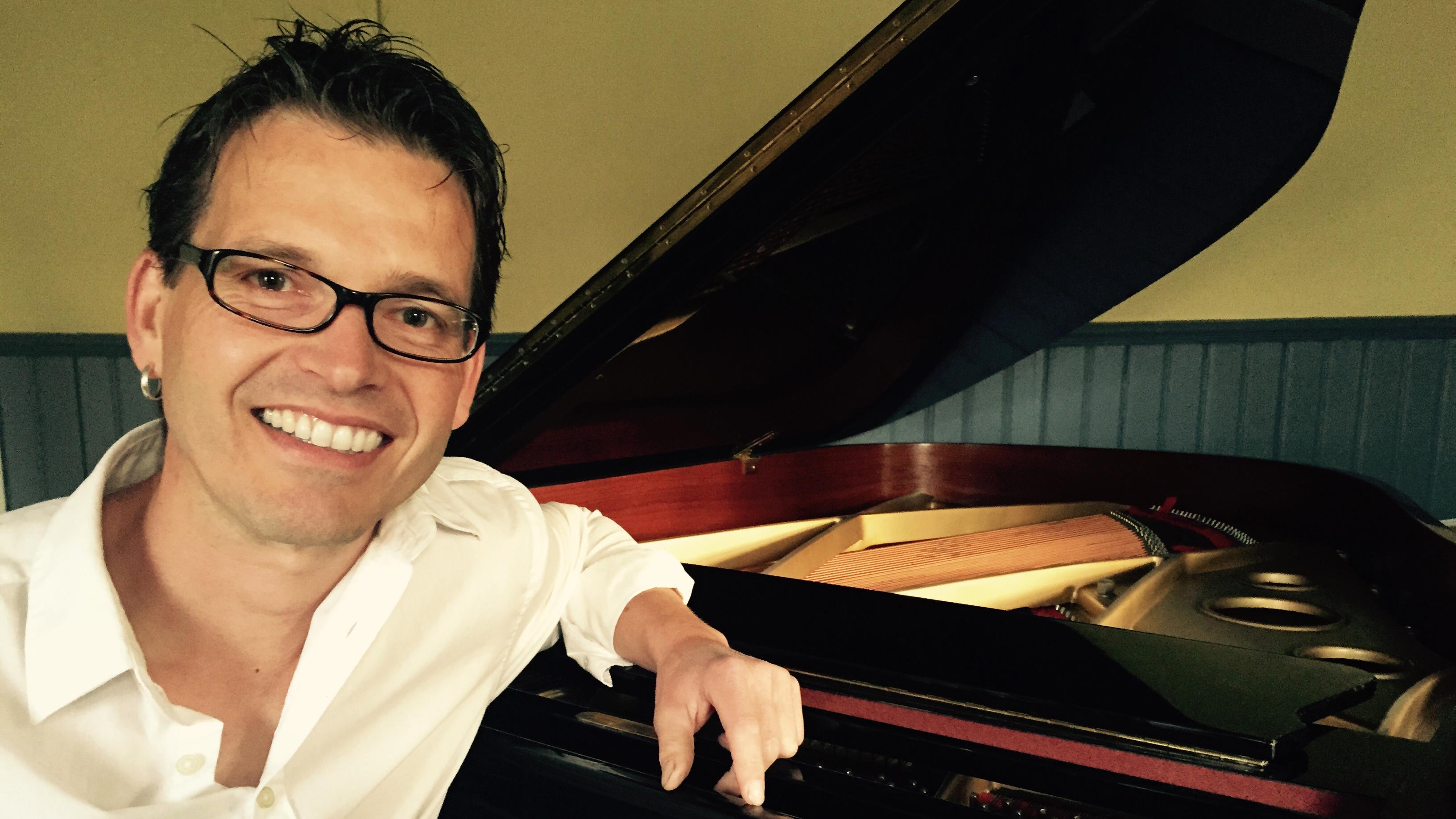 Tobias Lauber am Piano