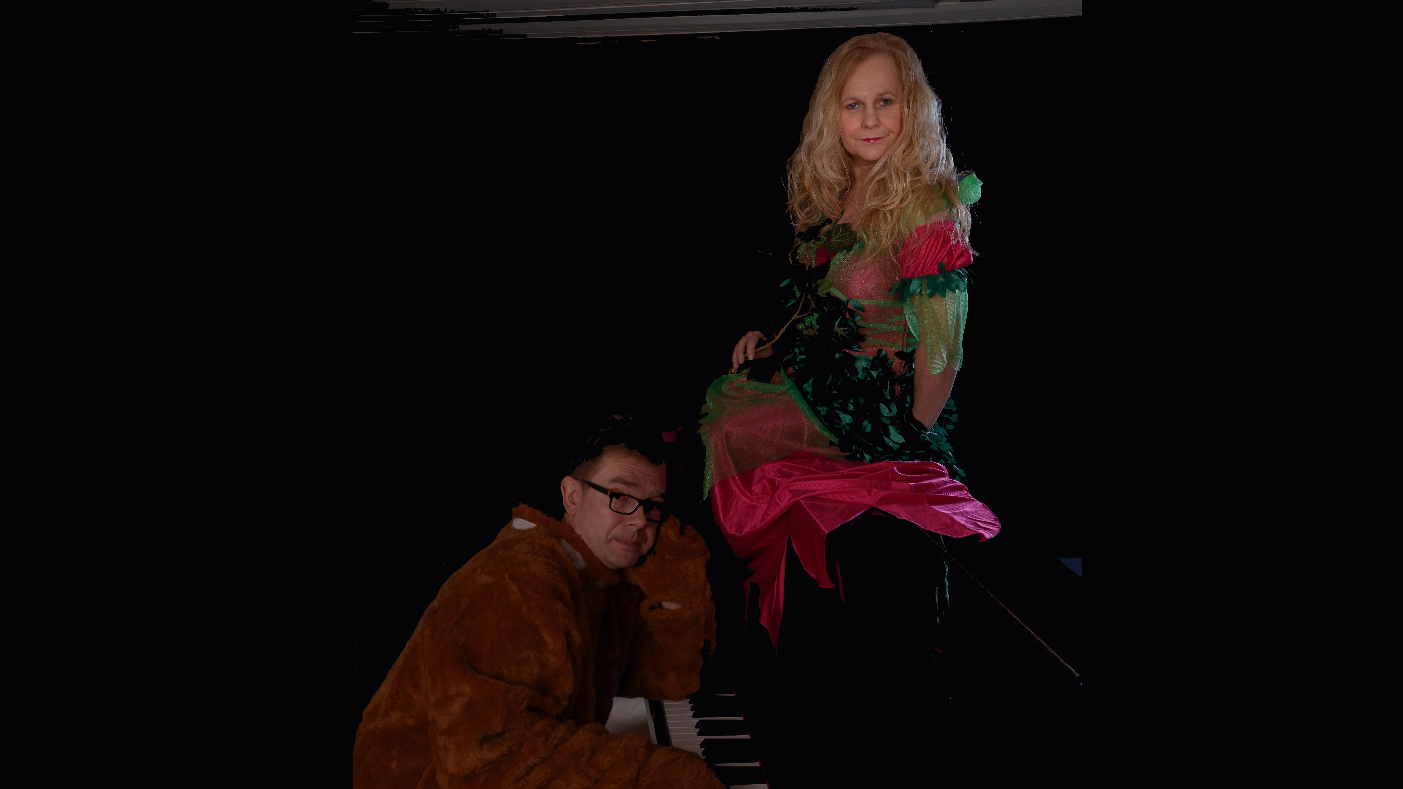 Eveline Lembke und Daniel Schulz am Piano - Event Worte & Töne