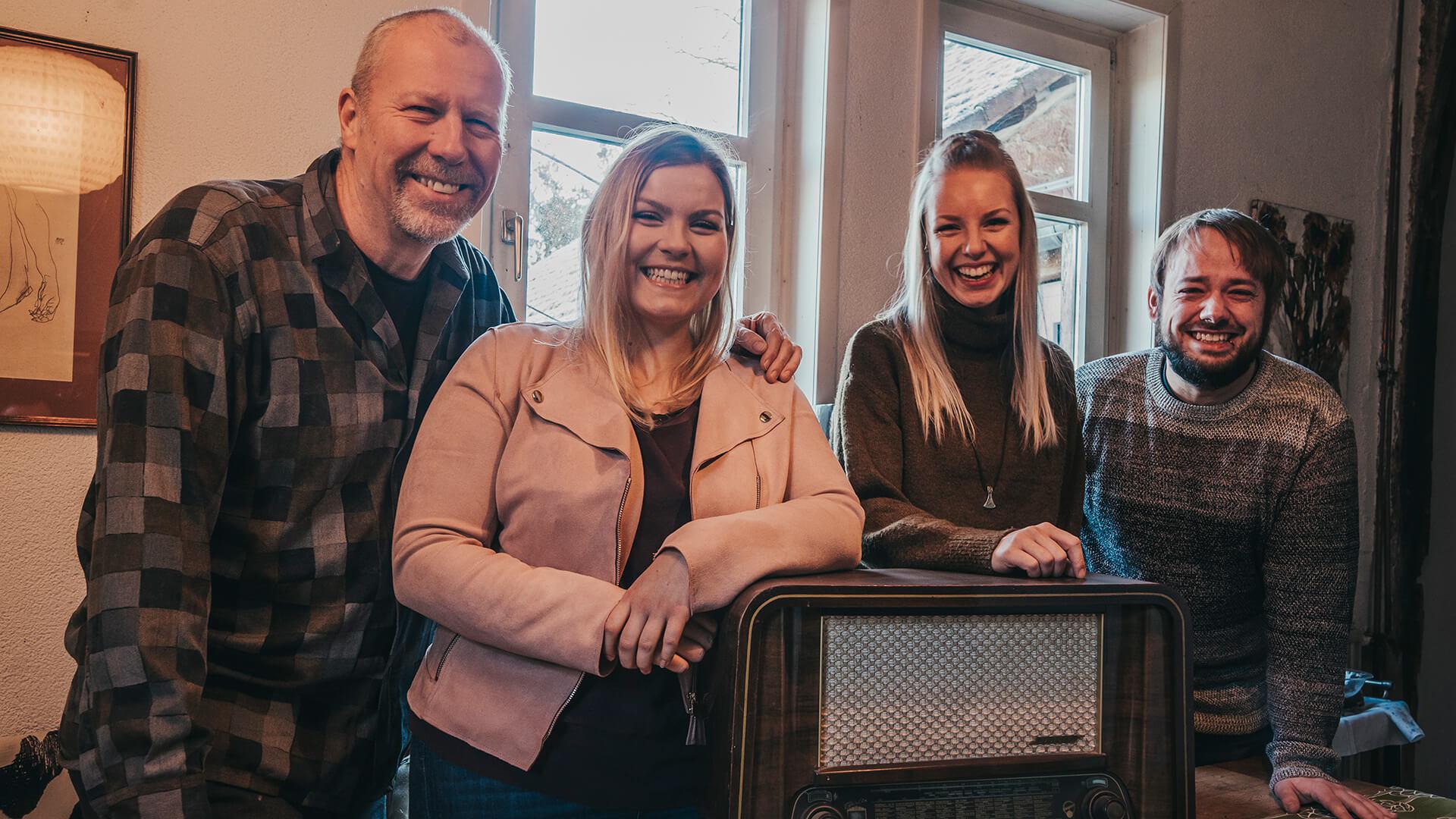 Akustik-Coverband Radio 2020 mit Radio